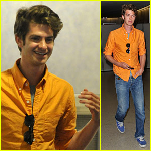 Andrew Garfield: Female Fan Attention at LAX!