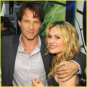 Anna Paquin & Stephen Moyer Marry