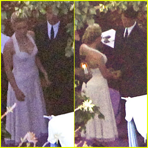 Anna Paquin's Wedding Pictures with Stephen Moyer -- FIRST LOOK