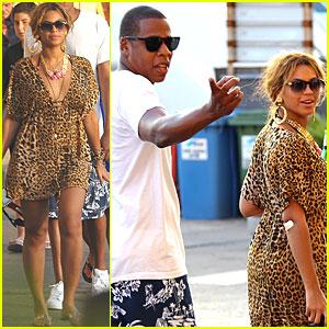 Beyonce & Jay-Z: Italian Vacation!
