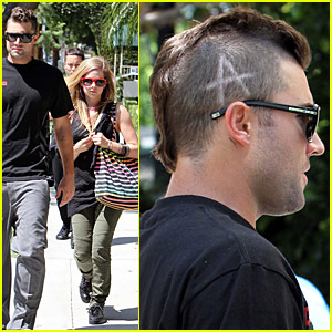 Brody Jenner Shaves 'A' Into Head For Avril Lavigne