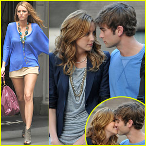 Chace Crawford & Katie Cassidy Caught Kissing