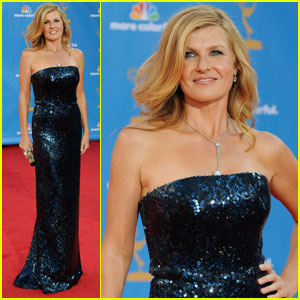 Connie Britton - Emmys 2010 Red Carpet