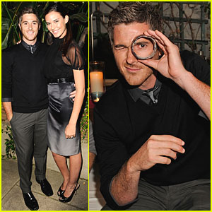 Dave Annable & Odette Yustman Give Love with Balthazar Getty