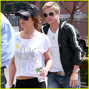Derek Hough & Cheryl Cole: Matinee Movie Date