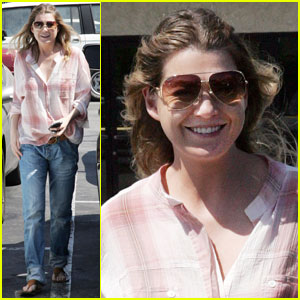 Ellen Pompeo is Beaming For Brew