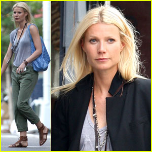 Gwyneth Paltrow: Hot On The Set!