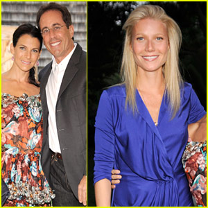 Gwyneth Paltrow & Jerry Seinfeld: Baby Buggy Summer Dinner!