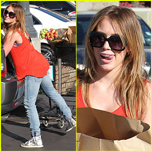 Hilary Duff: Ralph's Market Married