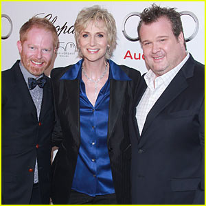 Jane Lynch & Modern Family: Emmys Celebration!