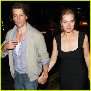 Kate Winslet &#038; Louis Dowler: Holding Hands