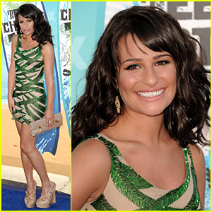 Lea Michele - Teen Choice Awards 2010