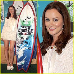 Leighton Meester - Teen Choice Awards Best Actress!