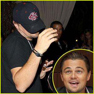 Leo DiCaprio: Teddy's Club Night!