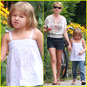 Michelle Williams & Matilda Ledger: Toronto Twosome