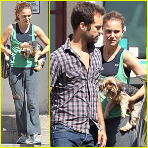 Natalie Portman & Benjamin Millepied: Check-Up for Whiz!