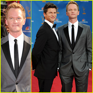 Neil Patrick Harris & David Burtka - Emmys 2010 Red Carpet