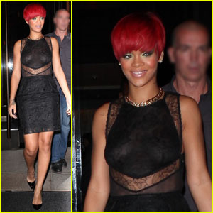 Rihanna: Fans First, Party Later