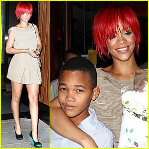 Rihanna Makes Matt Kemp Happy!