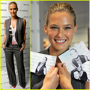 Bar Refaeli: Fashion's Night Out with Armani!