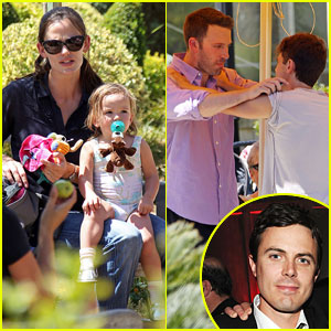 Ben Affleck & Casey Affleck: Brotherly Love!