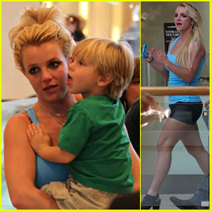 Britney Spears: Topanga Mall with the Boys