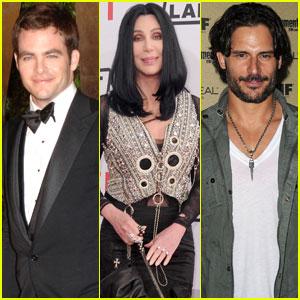 Chris Pine, Cher & Joe Manganiello: MTV VMA Presenters!