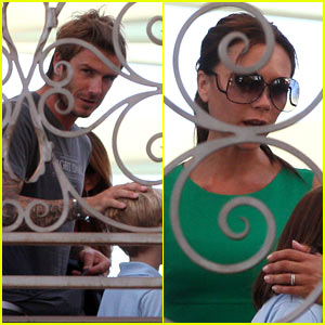 David & Victoria Beckham: Romeo Birthday Bash!