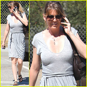Ellen Pompeo Beats The Heat in Beverly Hills