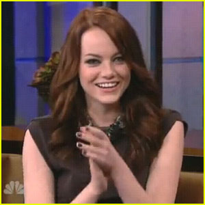 Emma Stone: 'Tonight Show' Adorable!