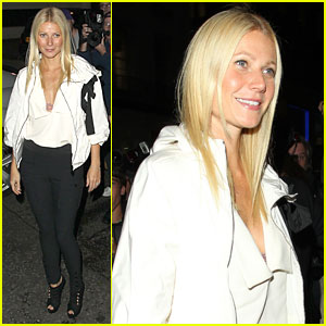 Gwyneth Paltrow: Fashion's Night Out 2010!