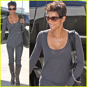 Halle Berry Takes Flight