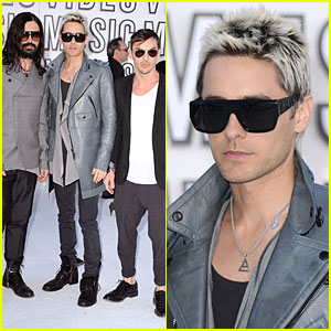 Jared Leto: VMAs Win for Best Rock Video!