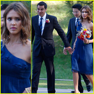 Jessica Alba: Bridesmaid in Beverly Hills