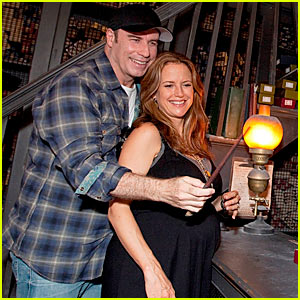 The Wizarding World of John Travolta & Kelly Preston
