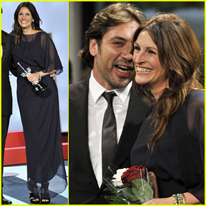 Julia Roberts & Javier Bardem:  'Eat, Pray, Love' in Spain!