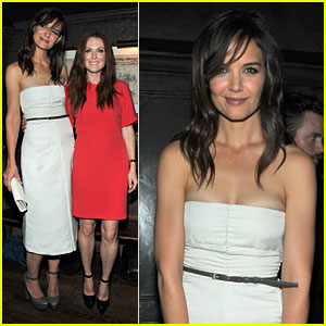 Katie Holmes: NYC Night with Stylist Jeanne Yang