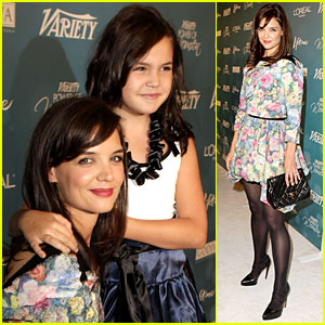 Katie Holmes: Power of Women Luncheon!
