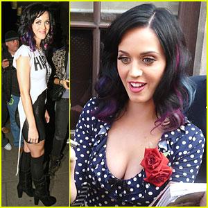 Katy Perry: Happy California Gurl!