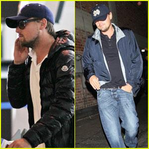 Leonardo DiCaprio: Jetting to a Nightclub