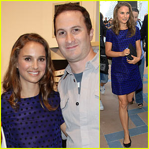 Natalie Portman: HFPA Cocktail Party with Darren Aronofsky!