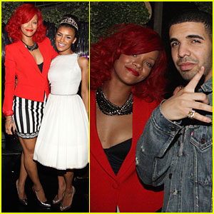 Rihanna: Drake Concert & After-Party!