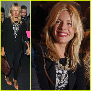 Sienna Miller Makes It to Matthew Williamson