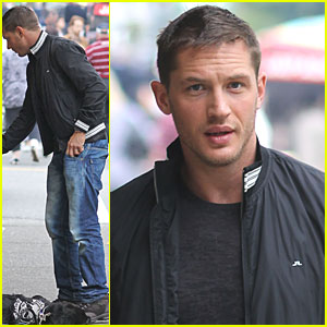 Tom Hardy Helps The Homeless