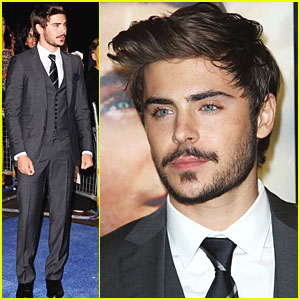 Zac Efron: Charlie St. Cloud Premiere in London!