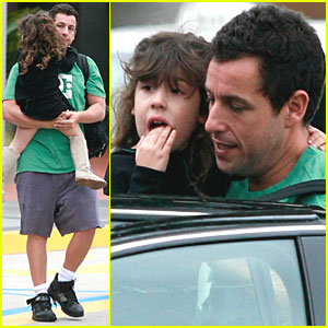 Adam Sandler: Century City with Sadie!