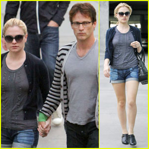 Anna Paquin & Stephen Moyer: ArcLight Lovebirds