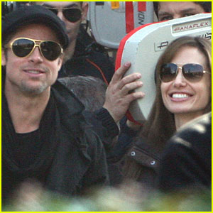 Brad Pitt: On Set with Angelina Jolie!