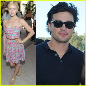 Tom Welling: Polo Classic in Pacific Palisades!