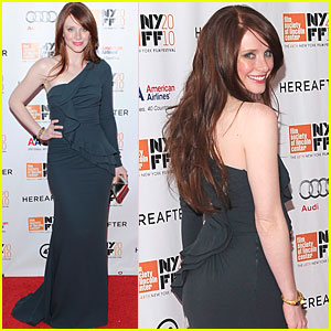 Bryce Dallas Howard: 'Hereafter' at New York Film Festival!
